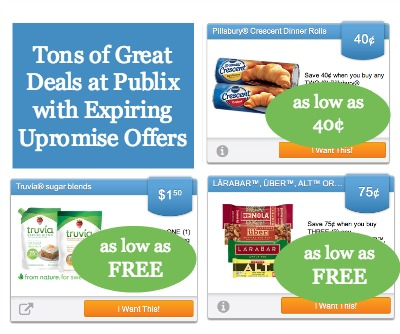 Tons of Great Deals With Expiring Upromise eCoupons