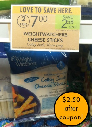 weight watchers cheese coupon
