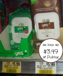 Yes To Skin Care Coupon and Publix Deal - As Low As $3.49