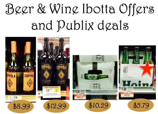 Beer and Wine Ibotta Offers For Some Nice Publix Deals