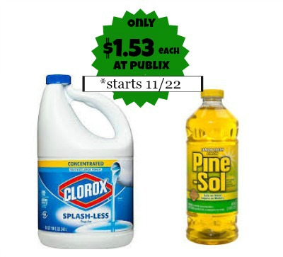 New Clorox Printable Coupon To Go With Our Upcoming Publix Coupon