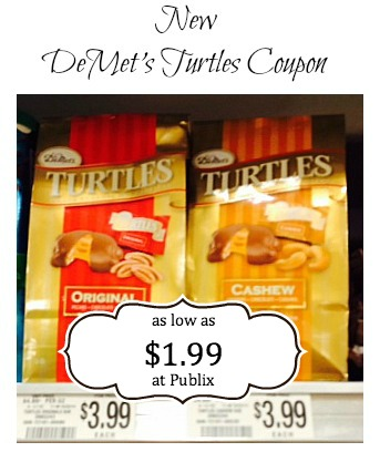 New DeMets Turtles Coupon To Print For a Nice Deal at Publix