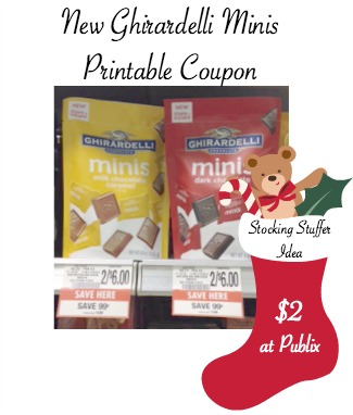 New Ghirardelli Minis Coupon To Print and Publix Deal - Just $2