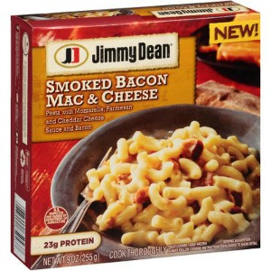 jimmy dean macaroni and cheese