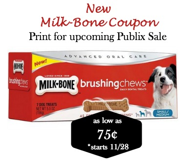 New Milk Bone Coupon To Go With Upcoming BOGO Sale