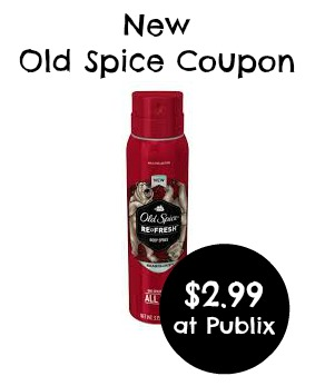Old Spice Body Spray Coupon