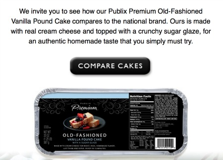 Try Me Tuesday - Publix Pound Cake