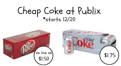 Cheap Coke And Possible Dr Pepper Deal Starting Saturday At Publix