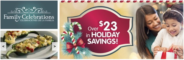 Don't miss these new Family Celebrations Publix Printable Coupons!