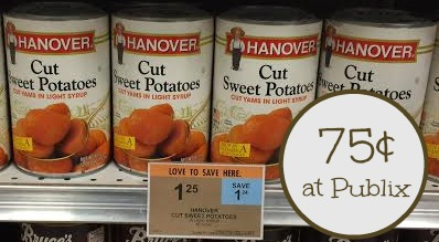 Cheap Hanover Sweet Potatoes At Publix - Just 75¢!
