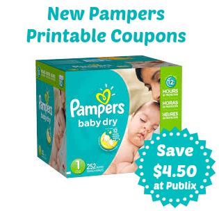 image about Printable Pampers Coupons identified as Fresh Pampers Printable Coupon codes in direction of Game Our Publix Coupon codes