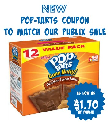 New Pop-Tarts Coupon To Match Our Publix Sale