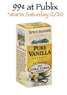Super Spice Islands Vanilla Extract Deal - As Low As 99¢ Starting 12/20