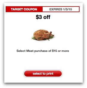 $3 Target Meat Coupon Returns!