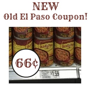 New Old El Paso Refried Beans Coupon To Go with Our Publix Sale