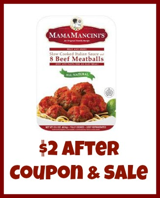 Mama Mancini's Meatballs Just $2 At Publix - Huge Savings!