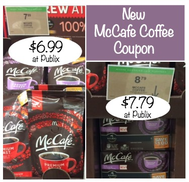 New McCafe Coffee Coupon and Publix Deal - Save $1 Off