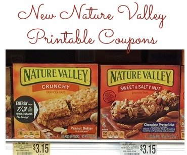 picture regarding Nature Valley Printable Coupons titled Fresh new Mother nature Valley Coupon codes and Publix Package deal