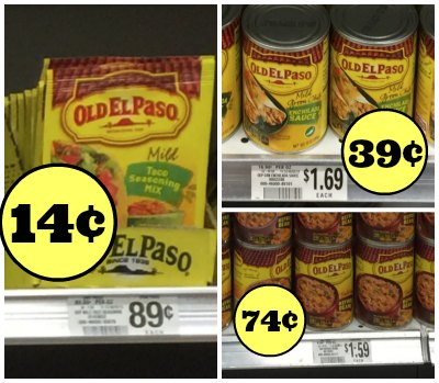 Great Deals On Old El Paso Products In Upcoming Publix Ad