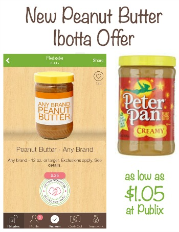 Nice Peanut Butter Deals at Publix With New Ibotta Offer