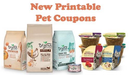 Printable Rachel Ray Dog Food Coupons