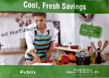 cool fresh savings flyer