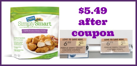 Perdue Simply Smart Chicken Sale Continues - Cheap Simply Smart At Publix