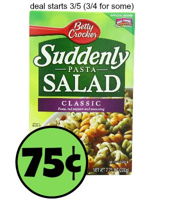Suddenly salad coupons