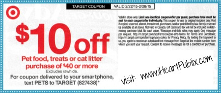 Sunday Coupon Preview 2/22 - 1 Insert + Big Target Pet Coupon!