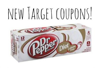 target coupons dr pepper