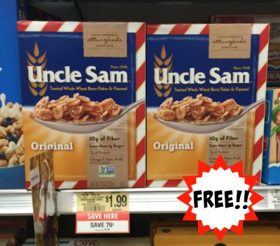 uncle sam's cereal publix
