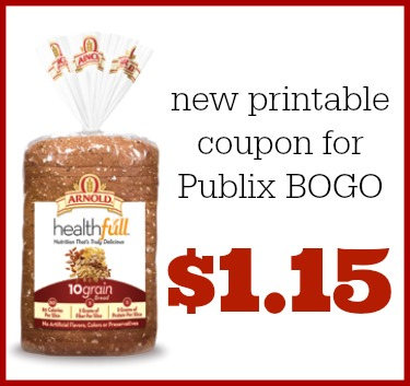 Arnold coupon Publix BOGO