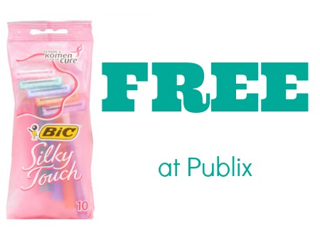 Bic Silky Touch FREE at Publix