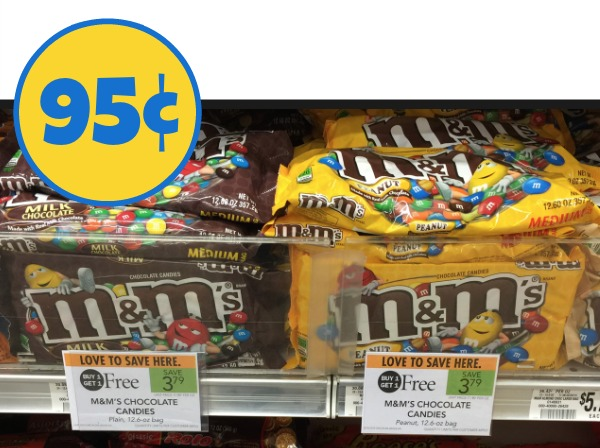 Cheap Chocolate At Publix - M&M's 95¢ Per Bag