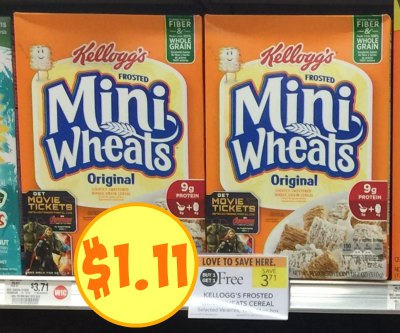 Frosted Mini Wheats Coupon Publix