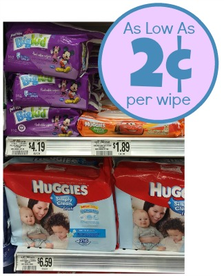 Huggies Wipes Deal At Publix - As Low As 2¢ Per Wipe