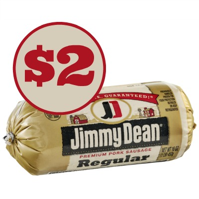 Jimmy Dean Sausage Roll $2 At Publix