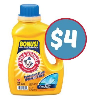 New Arm & Hammer Detergent Coupon For Publix Sale