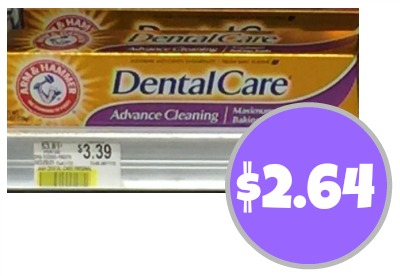 New Arm & Hammer Toothpaste Coupon