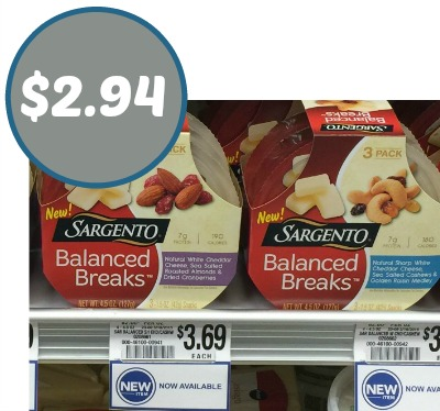 New Sargento Balanced Breaks At Publix