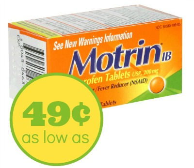 Nice Motrin Deal At Publix