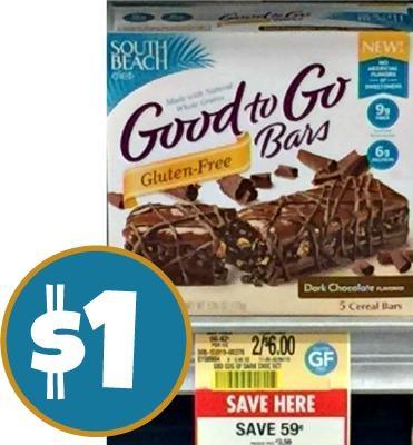 South Beach Good To Go Bars – $1 At Publix