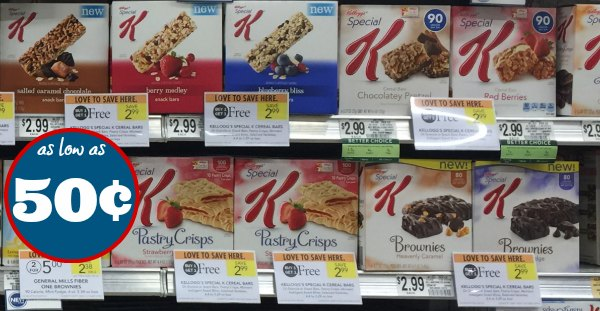 bogo special k bars brownies pastry crisps as low as 50 at publix. Black Bedroom Furniture Sets. Home Design Ideas