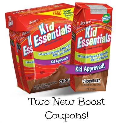 Boost drink coupons