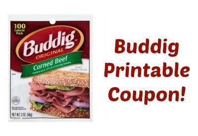 buddig coupon