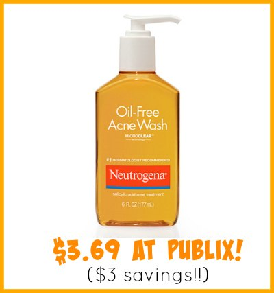 Neutrogena Coupons To Match The Publix Sale