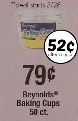reynolds baking cup coupon publix