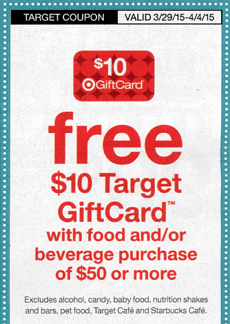 sunday coupon preview target coupon