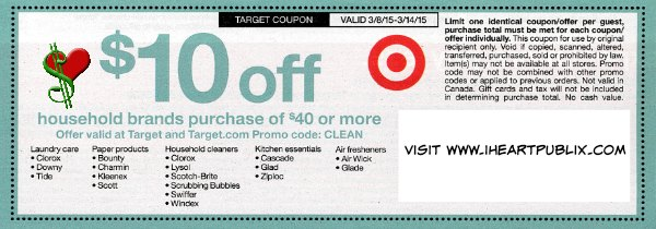 target household coupon
