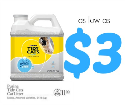 Tidy cat litter coupons printable
